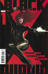 Black Widow Comic 1 Cover A Adam Hughes First Print 2020 Kelly Thompson Marvel