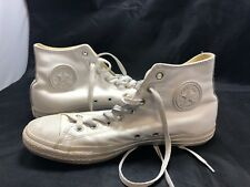 Converse Chuck Taylor All Stars High Tops 1t406 White Leather Mono Size US 10