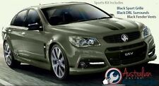 Commodore VF S1 Sports kit- Black Grille, DRL & Fender surrounds Genuine Holden