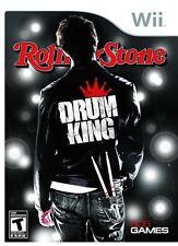 Drum King Rolling Stone Nintendo wii
