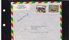 (F) Bolivia 1056,1057 OURS LETTRE  BEAR WILD LIFE AMERICA COVER