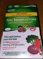 Beano Ultra 800 Gas Prevention and Digestive Enzyme Supplement 3 pack set 5/2021