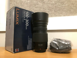 Panasonic 100-300mm f/4.0-5.6 II LUMIX G Vario Lens - MINT (Latest Version)
