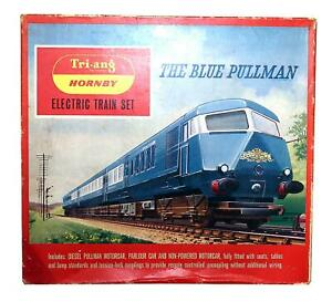 TRI-ANG HORNBY RS.52 THE BLUE PULLMAN 3 CAR SET