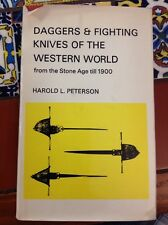 Daggers & Fighting Knives Of The Western World From The Stone Age -1900 Freeship