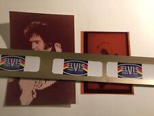 Elvis - Kodak Negative And Concert Photo / Rare / 1975