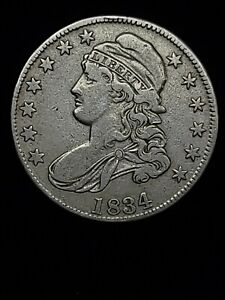 Capped Bust Half Dollar 1834
