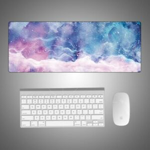Extended Large Size Gaming Mouse Pad Desk Keyboard Soft Mat Home Office Starry