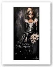 FANTASY ART PRINT Bridesmaid Angelina Wrona