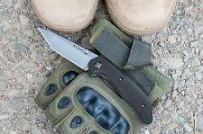 KA-BAR 7506 Jarosz Straight EdgeTanto Point Folding Pocket Knife