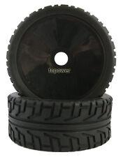 RC 4pcs Sponge Liner Tyre Tires & Wheel Rim Fit HSP 1:8 Off-Road Buggy 81B-803