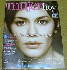 MUJER HOY 690 AUDREY TAUTOU Portada + 4 Pgs SPAIN MAGAZINE 2012 EMILY-ANN RIGAL