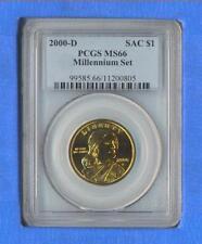 NICE 2000 D Millennium Set Sacagawea PCGS MS-66 Business Strike FREE US SHIPPING