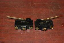 Micro Switch, Ba-2Rv-A2, 20A 125, 250, 480Vac, 1Hp 125Vac, 2Hp 250Vac, Lot of 2