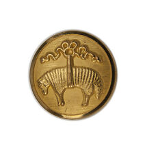 Brooks Brothers Golden Fleece Sheep Metal Pocket Sleeve Replacement Button .60""