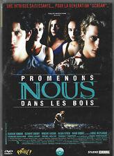 DVD : PROMENONS NOUS DANS LES BOIS, château,masque de tueur, suspens, 1h24+bonus