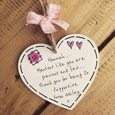 Mentor Teacher Midwife Tutor Nurse Plaque Christmas Gift Thank You Friend Suppor