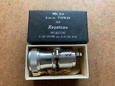 VINTAGE KEYSTONE PROJECTORS NO. V-8 8MM VIEWER FOR K-109 K-108 K-68