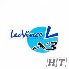 Aufkleber Leovince X3 mittel blau für Fly BSV CPI TGB Kymco Atala Rieju derb