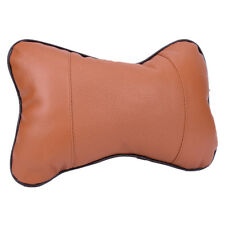 Upscale General Leather Auto Car Seat Head Rest Cushion Headrest Pillow Pad GT Grey