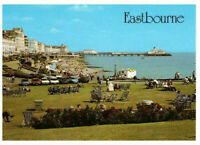 Eastbourne From the Wish Tower, East Sussex, England Rare Vintage Postcard