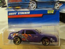 Hot Wheels Chevy Stocker #441! Black