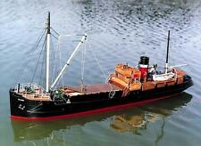 "Detailed, RC Model Ship Kit by Caldercraft: the ""SS Talacre Coaster"""