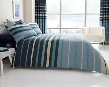 Block Stripes Luxury Duvet Covers Quilt Covers Reversible Bedding Sets All Sizes