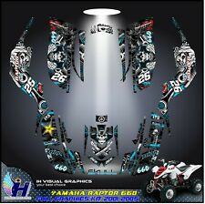 Yamaha Raptor 660 graphics kit 2001 2002 2003 2004 2005 decals stickers Atv