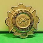 Vintage Leawood Fire Badge Kansas 53x53 mm
