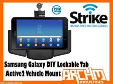 STRIKE ALPHA SAMSUNG GALAXY TAB ACTIVE 2 LOCKABLE VEHICLE MOUNT DIY - CHARGER