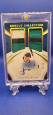 2021 Jake Freely Immaculate Baseball Collection Auto Jersey Patch 10 Of 10.