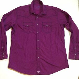 Wrangler 20X Mens Size XL Competition Snap Button Advance Comfort Western Shirt