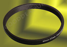 60 mm Para Tickets 60-57mm 60mm-57mm 60-57 Stepping Step Down filtro anillo adaptador