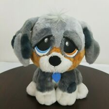 """Rescue Pets Puppy Dog Plush Happy/Sad Barks Cries Head Moves Tail Wags 9"""""""