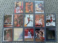 (13) Premium Michael Jordan ALL Different Insert Card Lot Total D Team MVP $$$