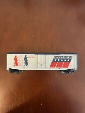 Tyco HO Scale Spirit of '76 GATX 85760 Plug Door Box Train Car The Minutemen