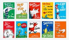 Free ship US Dr Seuss FABRIC PANEL 10 Block 100% cotton panel appr 23 x 44