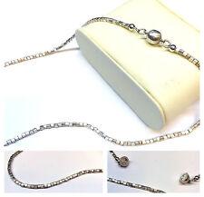 Collana di perle argento sterling 925 chiusura COLLIER magnetica