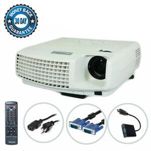 Mitsubishi XD430U DLP Projector XGA Portable HDMI-Adapter w/Remote bundle