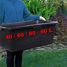 Strong Mixing MORTAL CONTAINER Tub Robust Plasterers Builders 40 / 60 / 80 / 90L