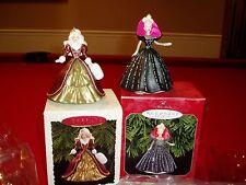 "2 ""KEEPSAKE"", HOLIDAY BARBIE, COLLECTOR'S SERIES Gala Ball & Classic Victorian"