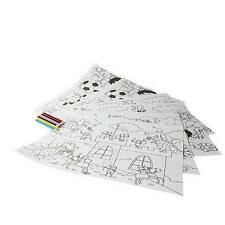 Paper Rectangle Personalised Placemats