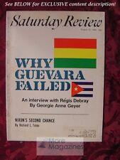 Saturday Review August 24 1968 CHE GUEVARA REGIS DEBRAY MALCOLM COWLEY