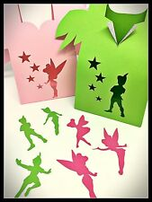 12 pk Mix Peter Pan & Tinkerbell Fairy Party Favours/Lollybags + Table Scatters