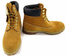Timberland Boots 6 Inch Premium Wheat/Brown Shoes Size 10