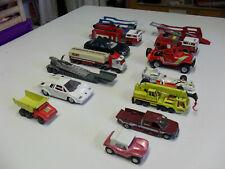 Lot autos miniatures ancien jouets ( Matcbox, Majorette, France Jouet, Welly...)