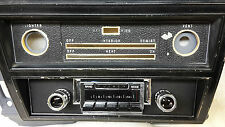 Radio & black Fascia suit Holden HK HT HG. Bluetooth, 300Watt, AM/FM, USB.