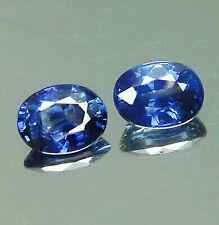 0.53ct.[2pcs] Pair Blue Sapphire Sapphire