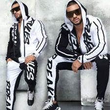 By Alina 2-Teiler Freizeitanzug Boyfriend Trainingsanzug Hose Jacke S - XL #M2